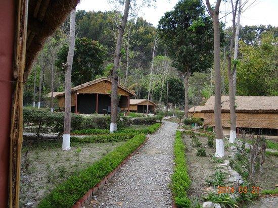 WelcomHeritage Corbett Ramganga Resort: cottages