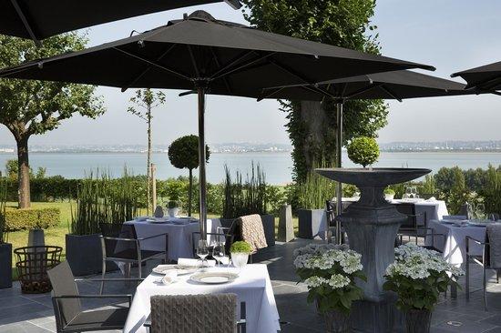 La Ferme Saint Simeon Restaurant - Relais et Chateaux