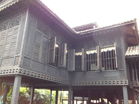 Rumah Penghulu Abu Seman : External View of the House