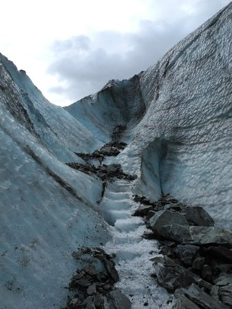 Fox Glacier Guiding : steps