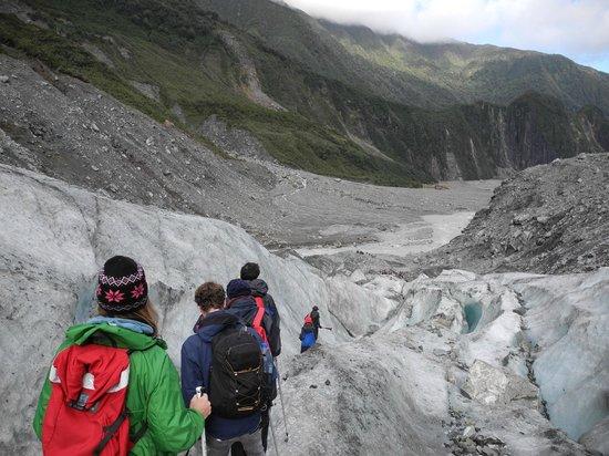 Fox Glacier Guiding: our little group