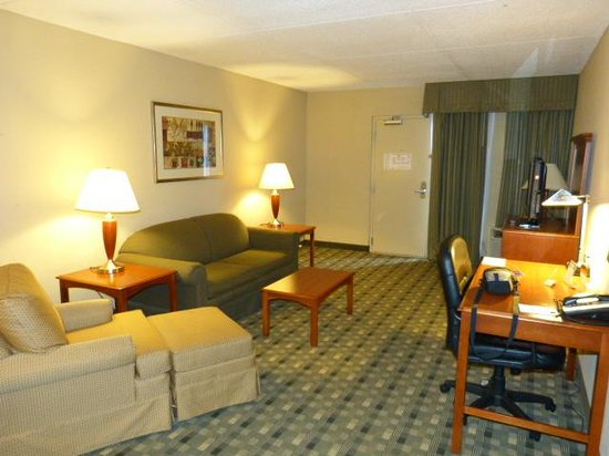 Crowne Plaza Hotel Cincinnati Blue Ash: Suite