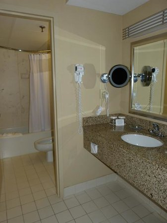 Crowne Plaza Hotel Cincinnati Blue Ash: Seperate Vanity Area