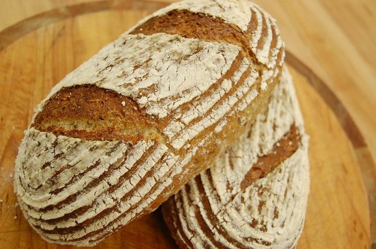 Pastry Training Centre of Vancouver: rye breads in bread course 3