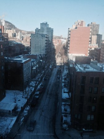 Hilton Garden Inn Montreal Centre-ville : The view from my room