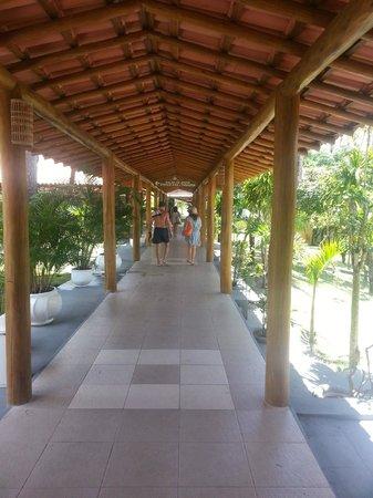 Porto Seguro Praia Resort: Acesso aos quartos e ao hotel