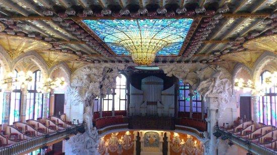 Palau de la Música Orfeó Català: カタルーニャ音楽堂