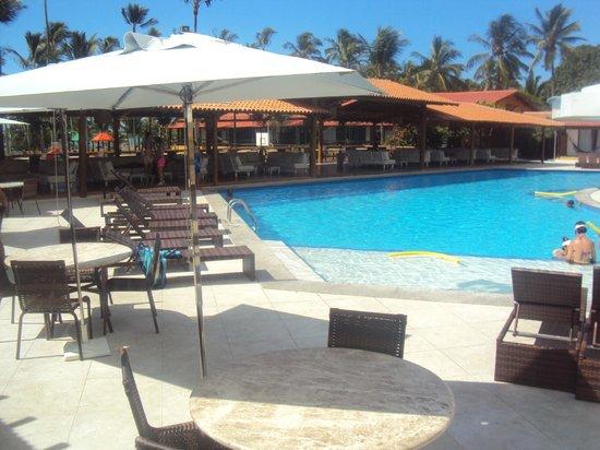 Porto Seguro Praia Resort: Vista do quarto para a piscina!
