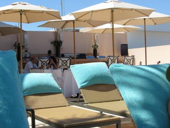 Grand Fiesta Americana Coral Beach Cancun: Grand Club beach level