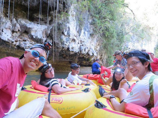 Cavetubing with Major Tom: Cave Tubing