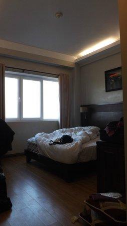 Gold Hotel Hue: Das 1.Zimmer,wie ein Loch