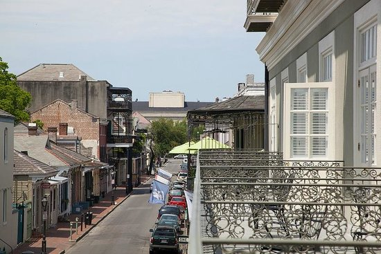 Bourbon Orleans Hotel : View from our French Quarter balconies