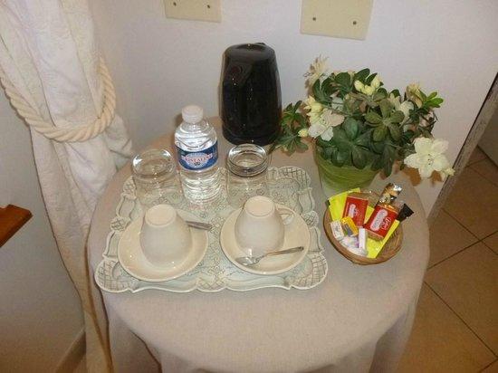 Ferme de la Place : thé dans la chambre