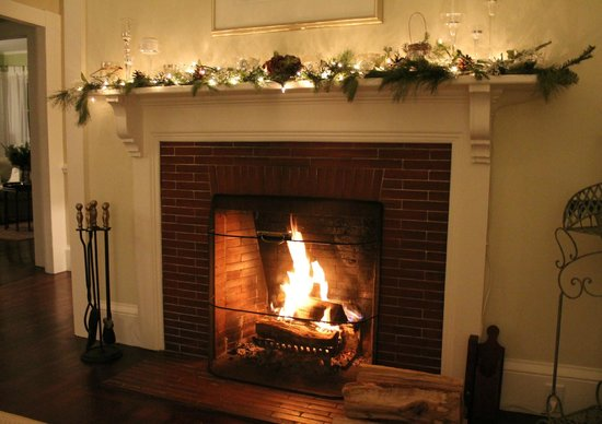 Beech Tree B&B: Warm up by the fire