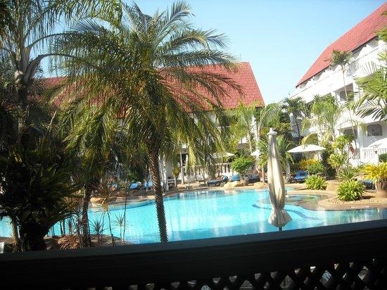 Ban Nam Mao Resort: Zdjęcie z patio w chwili wyazdu