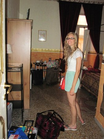 Baldassini B&B: My daughter excited to start our Roman adventure