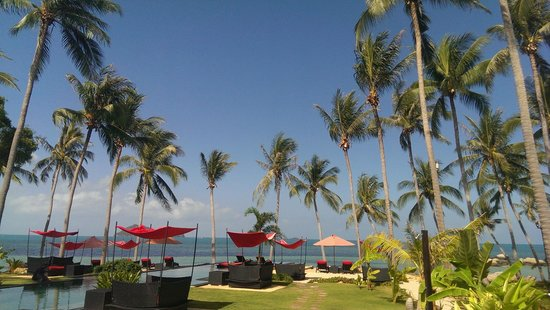 Kupu Kupu Phangan Beach Villas and Spa by l'Occitane: Ausblick bei Tag