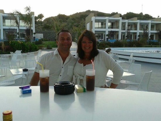 Princess Andriana Resort & Spa: A lovely relaxing drink