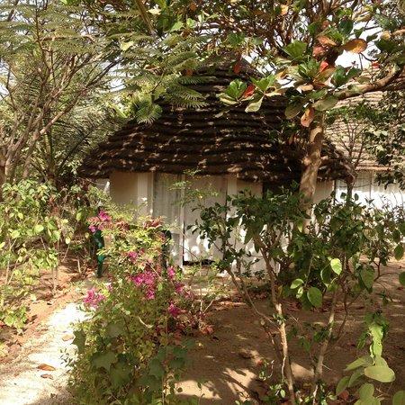 Auberge Keurmariguen : Hébergement sous forme de cases
