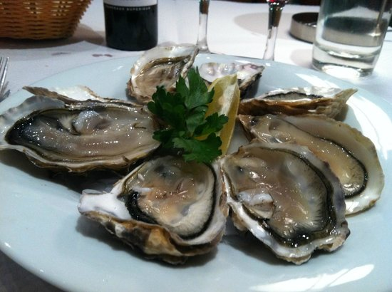 La Brasserie Armoricaine : Cancale Oysters