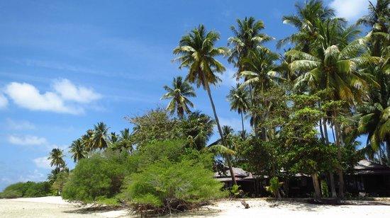 Nunukan Island Resort: Strandidylle