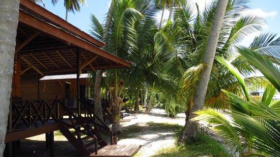 Nunukan Island Resort: Perfekte Lage der Zimmer
