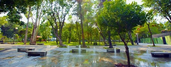 Parque Agua Azul: Tras los trabajos de rehabilitación del parque