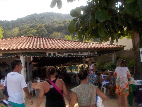 Praia de Japariz: Aquí se come, bien