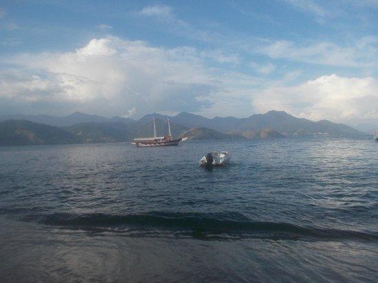 Praia de Japariz: Volviendo a la ciudad