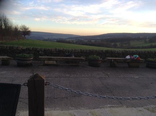 Chatsworth Estate Farm Shop Cafe: view from farm shop restaurant