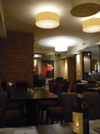 Metropolitan Boutique Hotel: Fab Fusion restaurant