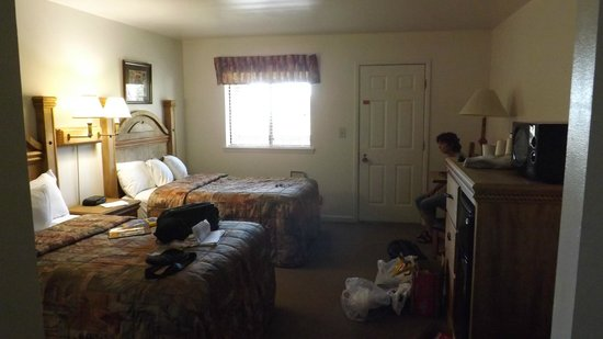 Chisos Mountains Lodge: Das Zimmer
