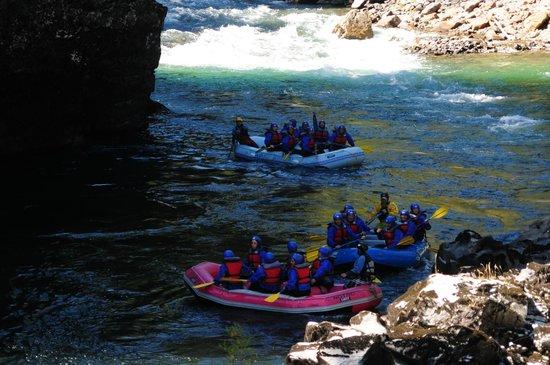 Aguas Blancas Rafting: Rio Manso