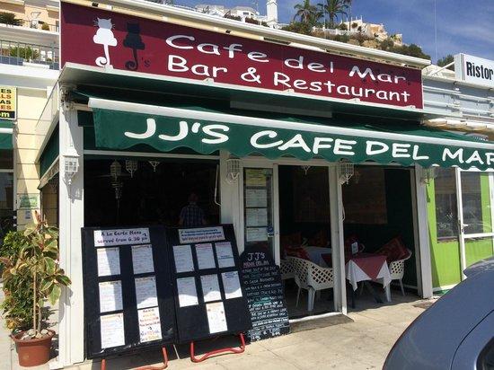 J.J.'s Cafe del Mar - frontage