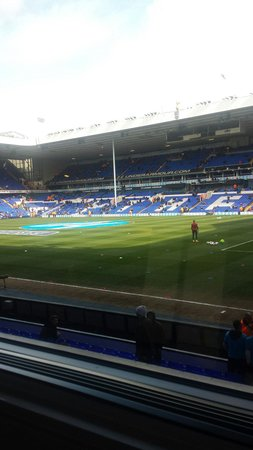 White Hart Lane: Tottenham - Southampton 23/3-2014