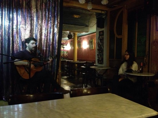 London Bar: She knew every word to every song.
