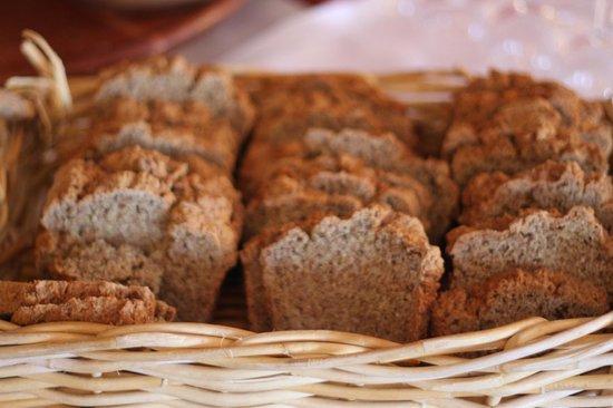 Abbeyglen Castle Hotel: Homemade Brown Bread