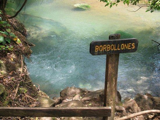 Rio Celeste: Borbollones