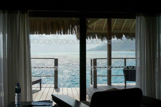 InterContinental Resort & Spa Moorea: balcony view