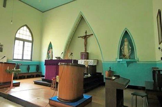 Sawahlunto, Indonesien: Altar dalam gereja