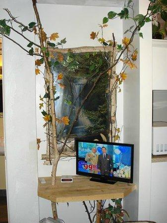 Bear Cove Inn: TV table