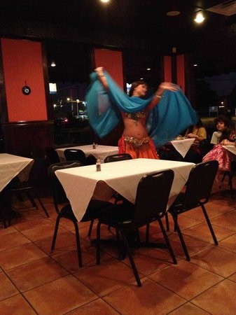 Bellydancing at Turkish Kitchen Orlando