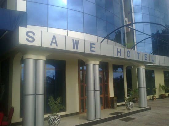 Sawe Hotel : Hotel entrance