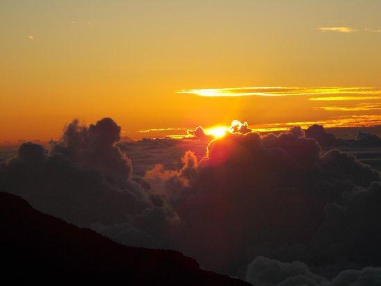 Haleakala Crater: Sunset!
