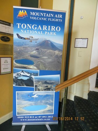 Chateau Tongariro Hotel: The sights around the hotel