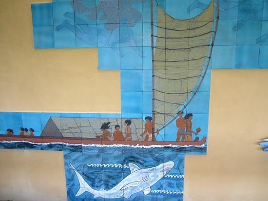Pu'uhonua O Honaunau National Historical Park : on museum wall