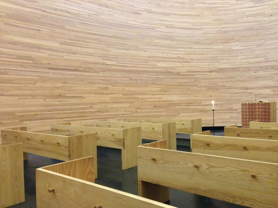 Kamppi Chapel of Silence : Sitting area