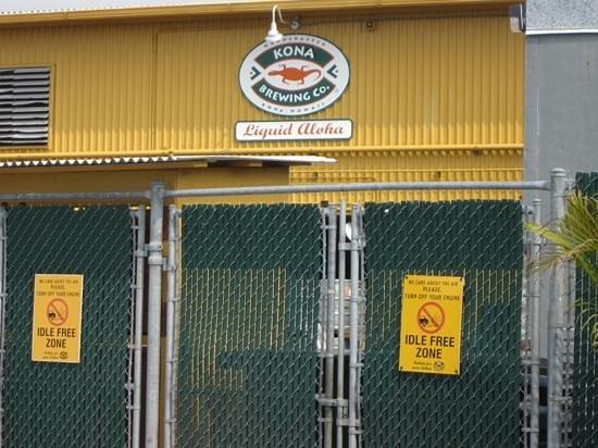 Kona Brewing Company: kona brewing co