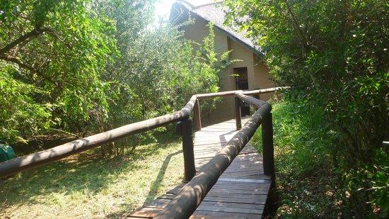 Shishangeni Private Lodge: una casetta del Lodge