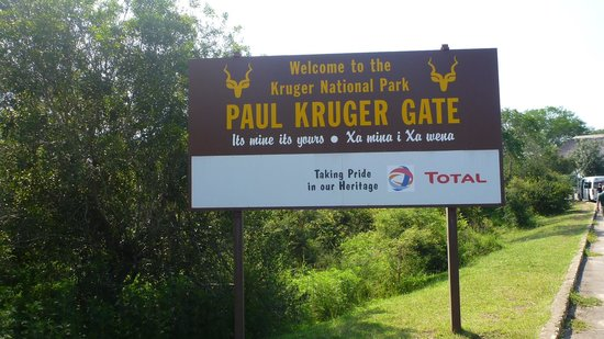 Shishangeni Private Lodge : un' ingresso del parco Kruger